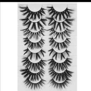 🔥8 pair mink assorted lashes 🔥